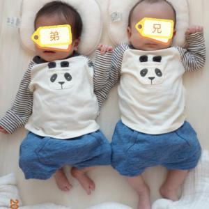 【生後42日目】双子1ヶ月健診を終える