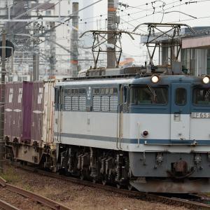 JRF EF65機関車改番組最若番機 2050号機