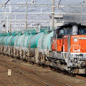 DD51牽引・タキ、コンテナ