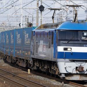 揃っている系コンテナ貨物列車(清洲)