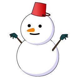 雪が降るあなたはこない・・・・