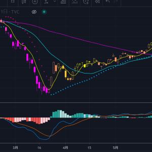 城晶子の【きらめきチャート】Trading View