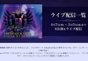 配信観劇その2。 「エリザベート TAKARAZUKA25周年スペシャル・ガラ・コンサート」