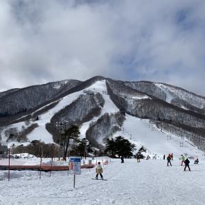 斑尾の雪山旅③