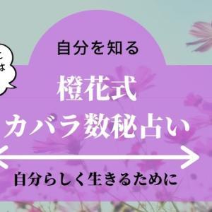 【自分を知る本】橙花式カバラ数秘占い