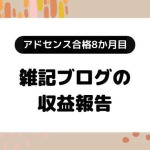 アドセンス(合格9か月目)とアフィリエイトの収益報告【雑記ブログ】