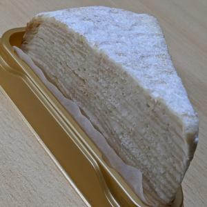 セブンイレブンデザート!Kiriのクリームチーズを使ったレアチーズミルクレープ✨
