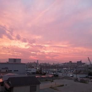 夕日きれい