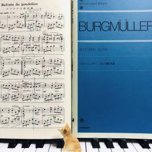 ブルグミュラーの18の練習曲、いい曲ばかり♪