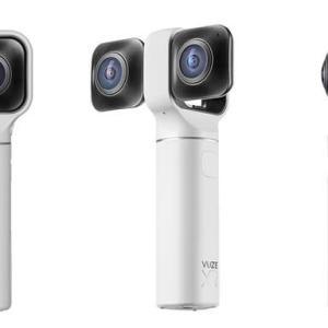 超高画質全天球のVRデュアルカメラ「VUZE XR ホワイト」発売開始!