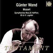 ハフナー交響曲/ケルンギュルツェニッヒ管弦楽団   指揮ギュンターヴァント