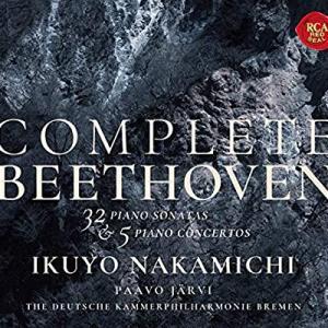 ベートーベンピアノソナタ全集ピアノ協奏曲全集/仲道郁代
