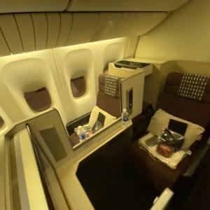 【JAL】成田空港→ニューヨークのビジネスクラス搭乗記【ボーイング777-300ER】