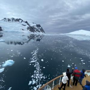 【南極クルーズ編⑥】お土産屋ポートロックロイで爆買いしたのちルメール海峡で寝坊の巻