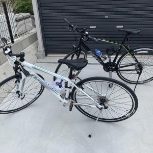 クロスバイク始めました!