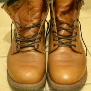 Red Wing BEACKMAN BOOTSの丸洗い(1)