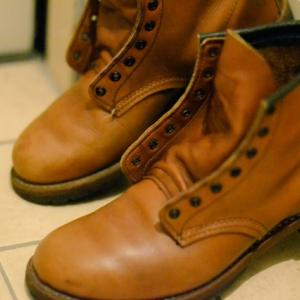 Red Wing BEACKMAN BOOTSの丸洗い(2)【shoes(革靴)】