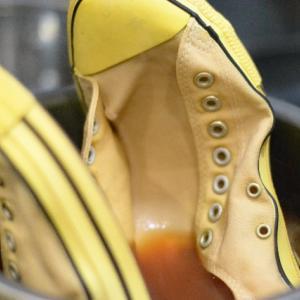 CONVERSEを染める(2)【shoes(靴)】