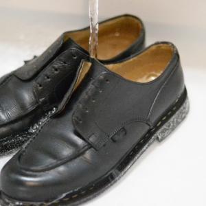 PARABOOT CHAMBORD(パラブーツ シャンボード)の丸洗い(1)【shoes(革靴)】