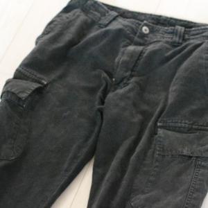 黒のパンツを脱色しよう(1)【Fashion(30代メンズファッション)】