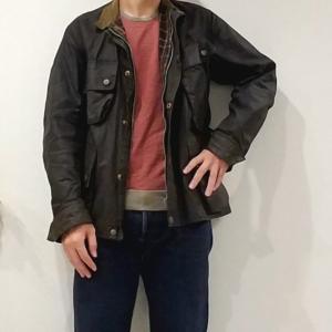 VINTAGE INTERNATIONALを着る【Barbour(バブアー)】