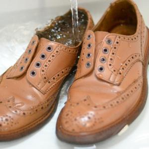 Tricker's KESWICK のメンテナンス(2)【shoes(革靴)】