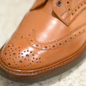 Tricker's KESWICK のメンテナンス(4)【shoes(革靴)】