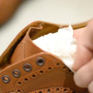 Tricker's KESWICK のメンテナンス(3)【shoes(革靴)】