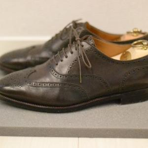 Sewn shoe-maker original wing-tip【shoes(革靴)】