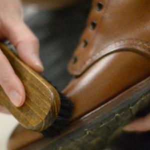 RED WING ベックマンの手入れ・補色【shoes(革靴)】