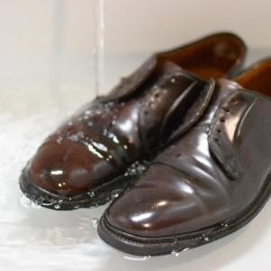 コードバン靴を洗う ~ALDEN 990 水洗い編~