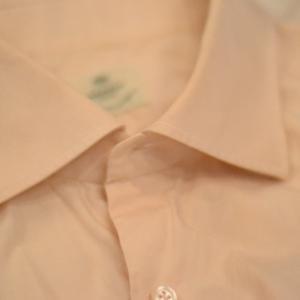 LUIGI BORRELLIのシャツを染めたら……