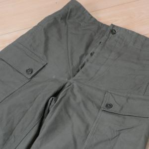 極厚シンプル。オランダ軍パンツ
