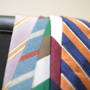 ストライプのネクタイがしたい・似合いたい