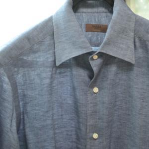 イタリアのダンディBARBA(バルバ)のリネンシャツ