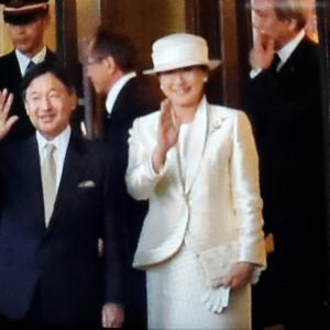 天皇皇后両陛下に手を振りに伊勢へ