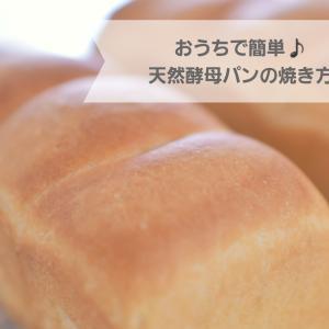 おうちで簡単♪天然酵母パンのレシピ&焼き方【パラダイス酵母】