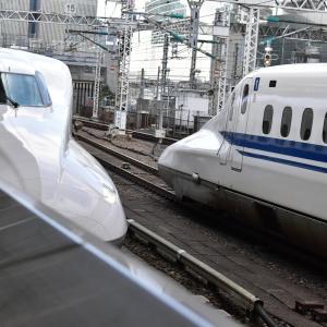【東海道新幹線 N700A】試運転