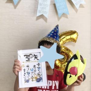 ニコニコ笑顔が可愛い誕生日
