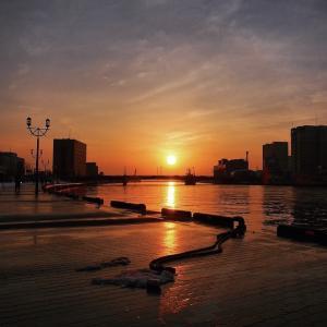 世界三大夕日の釧路 写真がワンパターン