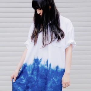 【作品紹介】 藍染・タイダイのハンドメイド Tシャツ/パーカー/ポロシャツ