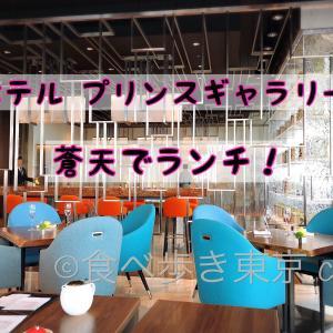 蒼天でランチ〜!ホテル プリンスギャラリー 東京/選べる和食コース