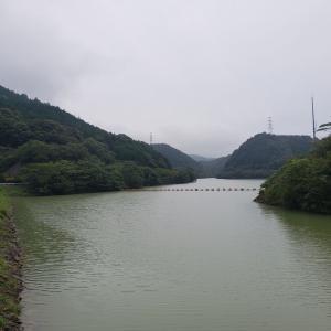 へっぽこ釣行記  8/20 小規模ダム(マッディー?)  増水+濁り+水温低下=分からない?!!