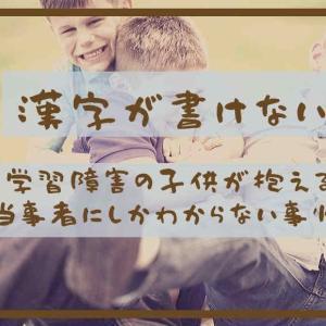 漢字が書けない学習障害の子供が抱える当事者にしかわからない事情