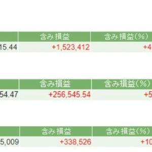 株式投資成績(20年9月11日) バリュー/大型/資産株