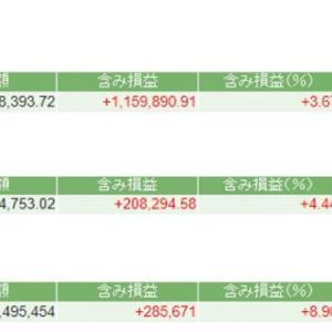 株式投資成績(20年10月30日) バリュー/大型/資産株