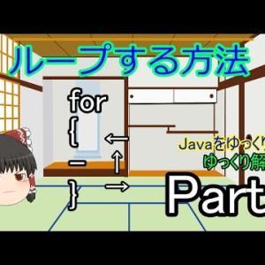javaをゆっくりとゆっくり解説 Part7 繰り返しの文 見やすいプログラムを! [プログラミング]