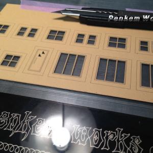 模型窓カット