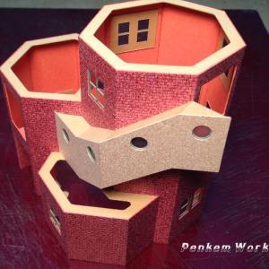 模型/階段/出部屋を作る