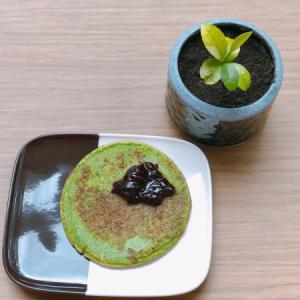 ◆とろっとふわっと◆ ほうれん草のパンケーキ